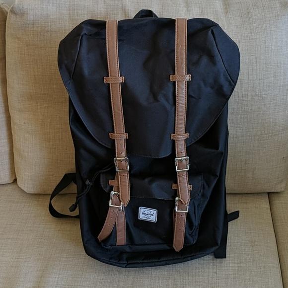Herschel Supply Company Bags   Herschel Black Backpack   Poshmark 7a3237f4c8
